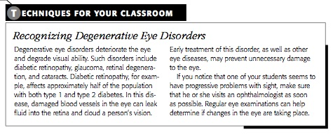 Visual Impairments - The Special Ed Wiki on examples of double vision, glaucoma vision, eye vision,